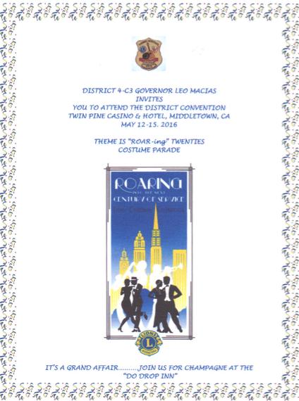 convention invitation