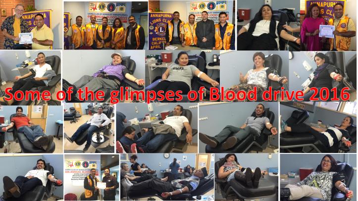 glimpsed blood drive